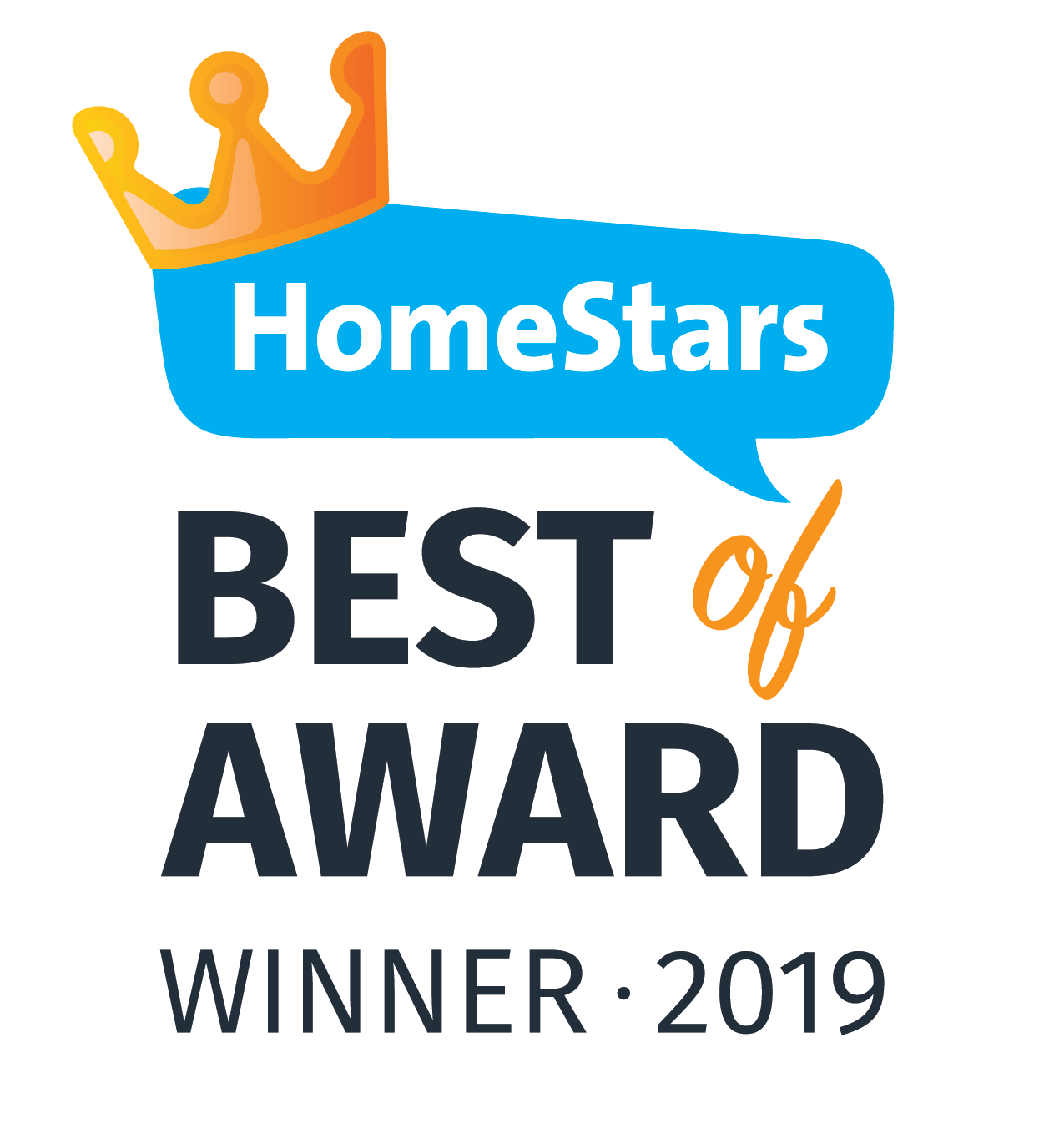 Homestars Best Of Award Winner 2019