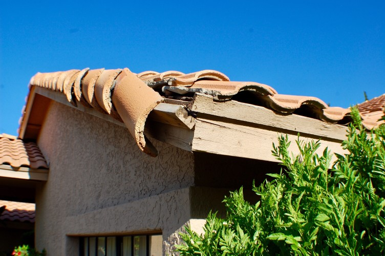 roof shingles damage