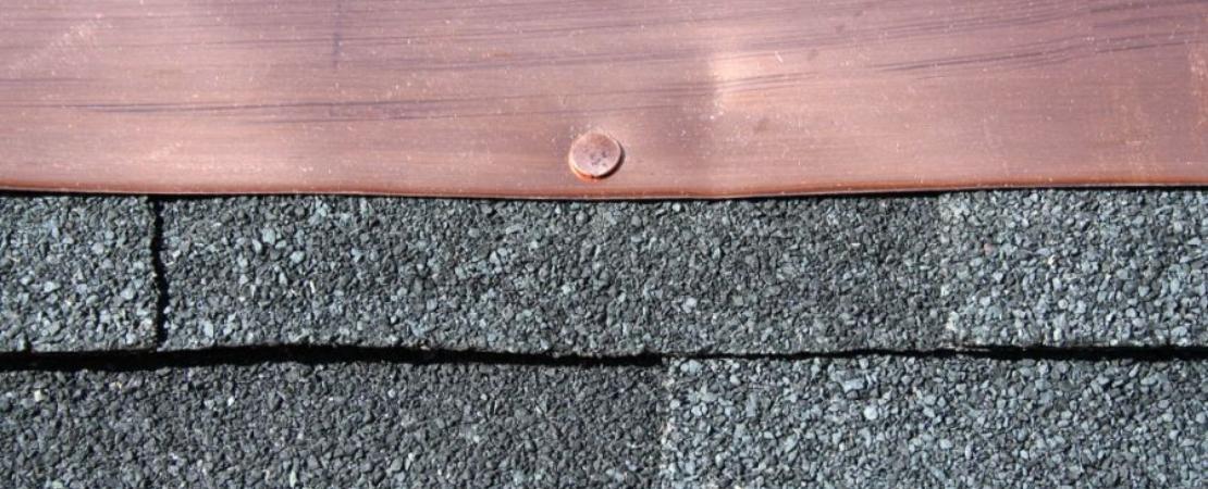 black asphalt shingles