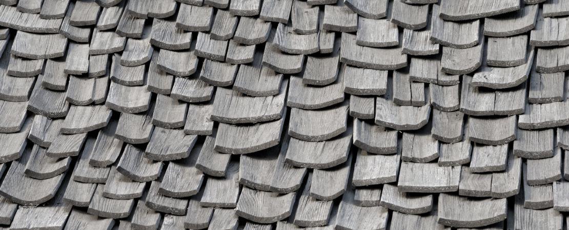 weathered shingles
